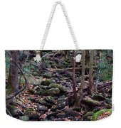 Dry River Bed- Autumn Weekender Tote Bag