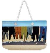 Drying Wet Suits Weekender Tote Bag