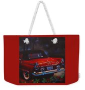 Red Bird Weekender Tote Bag