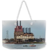 Dte Power Plant  Weekender Tote Bag