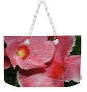 Dual Beauty In Pink Weekender Tote Bag