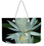 Dual Lilies Weekender Tote Bag