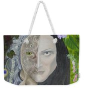 Duality Of Nature Weekender Tote Bag