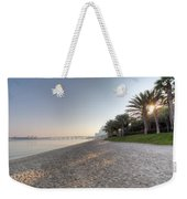 Dubai Beach Sunset Weekender Tote Bag