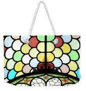Dublin Art Deco Stained Glass Weekender Tote Bag