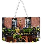 Dublin Ireland - Palace Bar Weekender Tote Bag