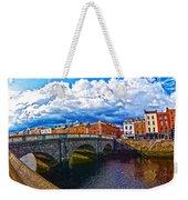 Dublin's Fairytales Around Grattan Bridge 2 Weekender Tote Bag