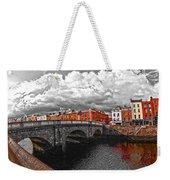 Dublin's Fairytales Around Grattan Bridge 2 V3 Weekender Tote Bag