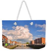Dublin's Fairytales Around  River Liffey Weekender Tote Bag