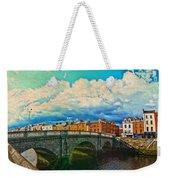 Dublin's Fairytales Around  River Liffey V4 Weekender Tote Bag