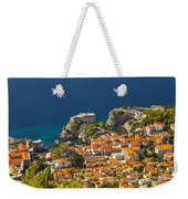 Dubrovnik Fortress From Above Weekender Tote Bag
