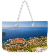 Dubrovnik From Above Panorama Weekender Tote Bag