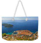 Dubrovnik Old Town From Above Weekender Tote Bag