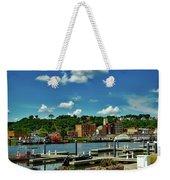 Dubuque Harbor Weekender Tote Bag