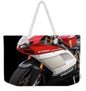 Ducati 1098s Motorcycle Weekender Tote Bag