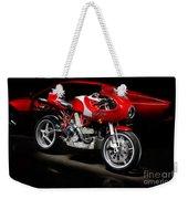 Ducati Mhe And Ferrari Weekender Tote Bag