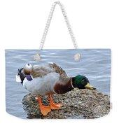 Duck Bath Alantic Beaches Nc Weekender Tote Bag