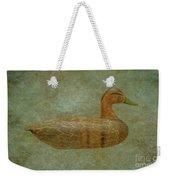 Duck Decoy Number Three Weekender Tote Bag