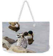 Duck, Duck Weekender Tote Bag