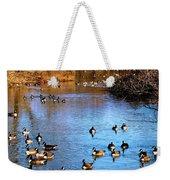Duck Duck Goose Goose Weekender Tote Bag