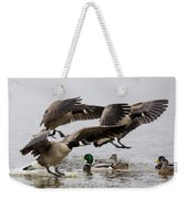 Duck Ducks Weekender Tote Bag