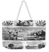 Duck Hunting, 1868 Weekender Tote Bag