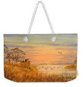 Duck Hunting Calls Weekender Tote Bag