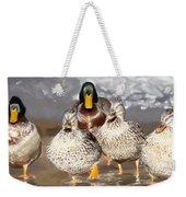 Duck - Id 16235-220255-9105 Weekender Tote Bag