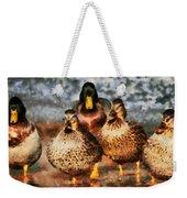 Duck - Id 16235-220308-3425 Weekender Tote Bag