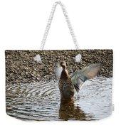 Duck In A Flap Weekender Tote Bag