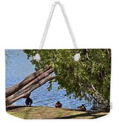 Duck Into The Shade Weekender Tote Bag