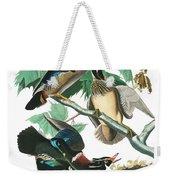 Lummer Or Wood Duck Weekender Tote Bag