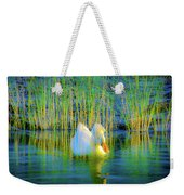 Duck On A Mission Weekender Tote Bag