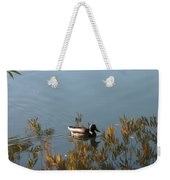 Duck On Golden Pond Weekender Tote Bag