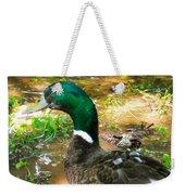 Duck On The Lake 1 Weekender Tote Bag
