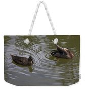 Duck Pair Weekender Tote Bag