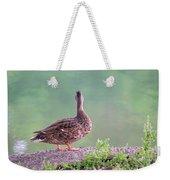 Duck Ponders Weekender Tote Bag