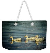Duck Reflections Weekender Tote Bag