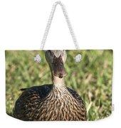 Duck Stare Weekender Tote Bag