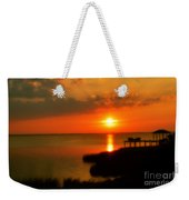 Duck Sunset Outer Banks North Carolina Weekender Tote Bag