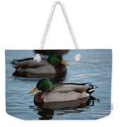 Duck Trio Weekender Tote Bag