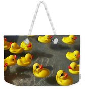 Duckies Weekender Tote Bag