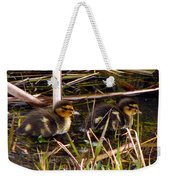 Ducklings 2 Weekender Tote Bag