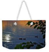 Ducks At Daybreak  Weekender Tote Bag