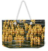 Ducks In A Row Weekender Tote Bag