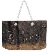 Ducks In Flight Weekender Tote Bag