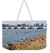 Ducks Of The Potomac Weekender Tote Bag