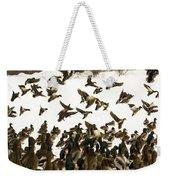 Ducks On The Move Weekender Tote Bag