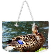 Ducky Day  Weekender Tote Bag