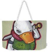 Ducky Death Weekender Tote Bag